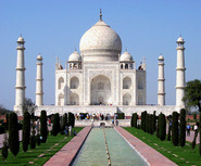 Taj is an example of load bearing construction