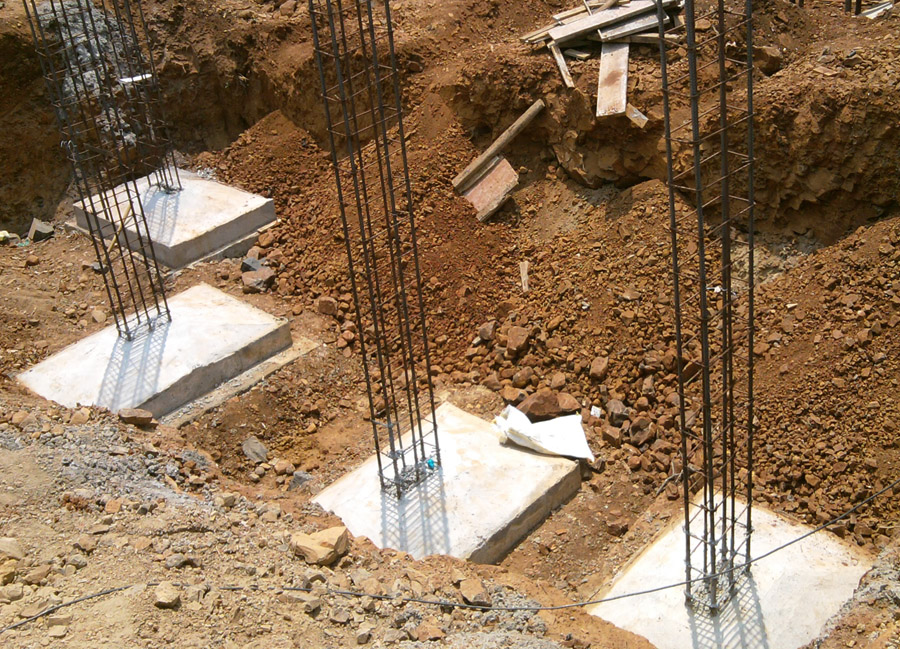 Types of foundations in building construction understand House foundations types